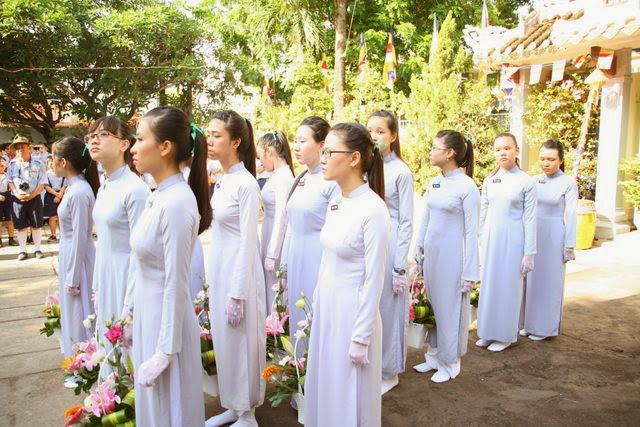 IMG 1761 Đại lễ Phật đản PL 2557 tại Tu viện Quảng Hương Già Lam