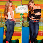 Angelica Jaramillo y Sofia Jaramillo Modelando D'Axxys Jeans Foto 31