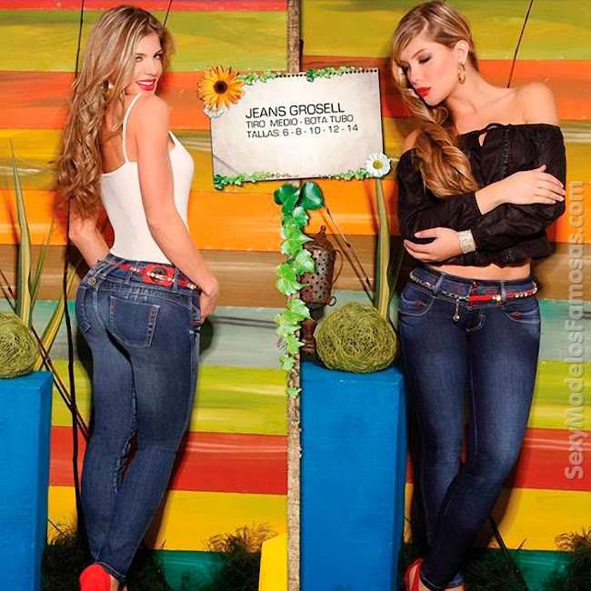Angelica Jaramillo y Sofia Jaramillo Axxys Jeans Foto 31