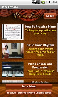 Piano Lessons App - screenshot thumbnail