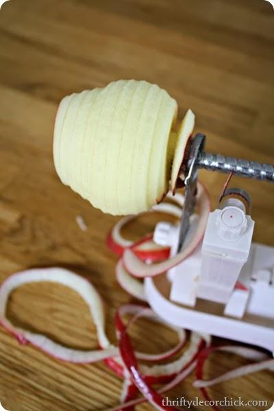 easy apple slicer corer