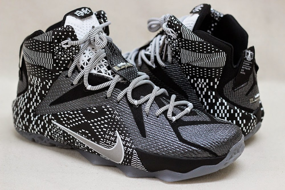 new arrivals 53b6b 93646 Release Reminder Nike LeBron 12 8220Black History Month8221 ...