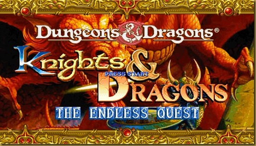 Knights & Dragons The Endless Quest タイトル