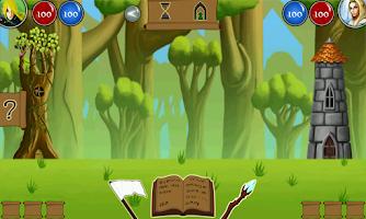 Screenshot of Elemental Wars Demo