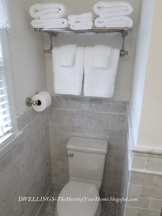 Guest Bath Remodel The Finishing Touches Dwellings The