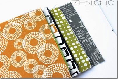 Sew Together Bag, Reel Time, Zen chic