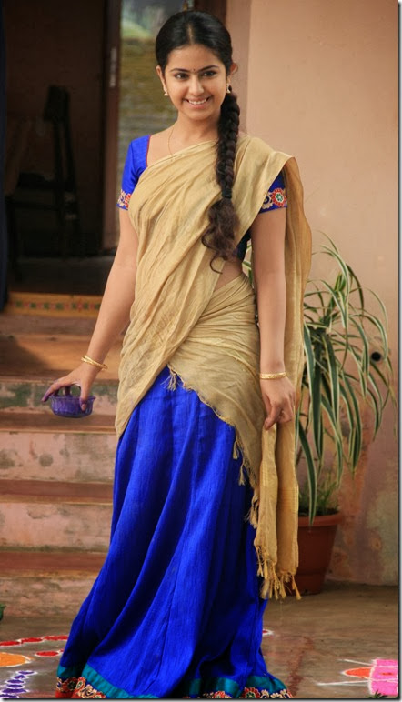 Actress Anandi in Uyyala Jampala Telugu Movie Photos