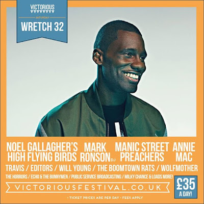 I'll be performing at Victorious Festival on the 27th August