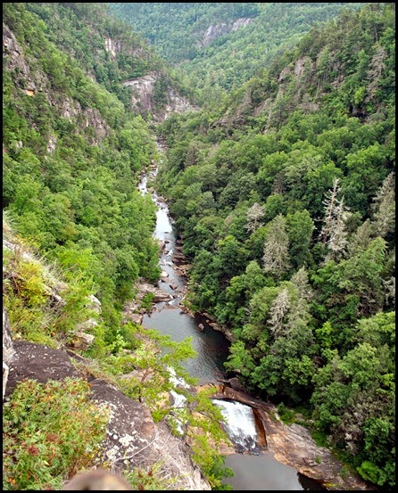 25e2 - North Rim Trail - view of gorge