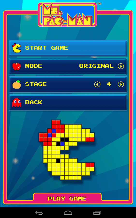 Ms. PAC-MAN by Namco- screenshot