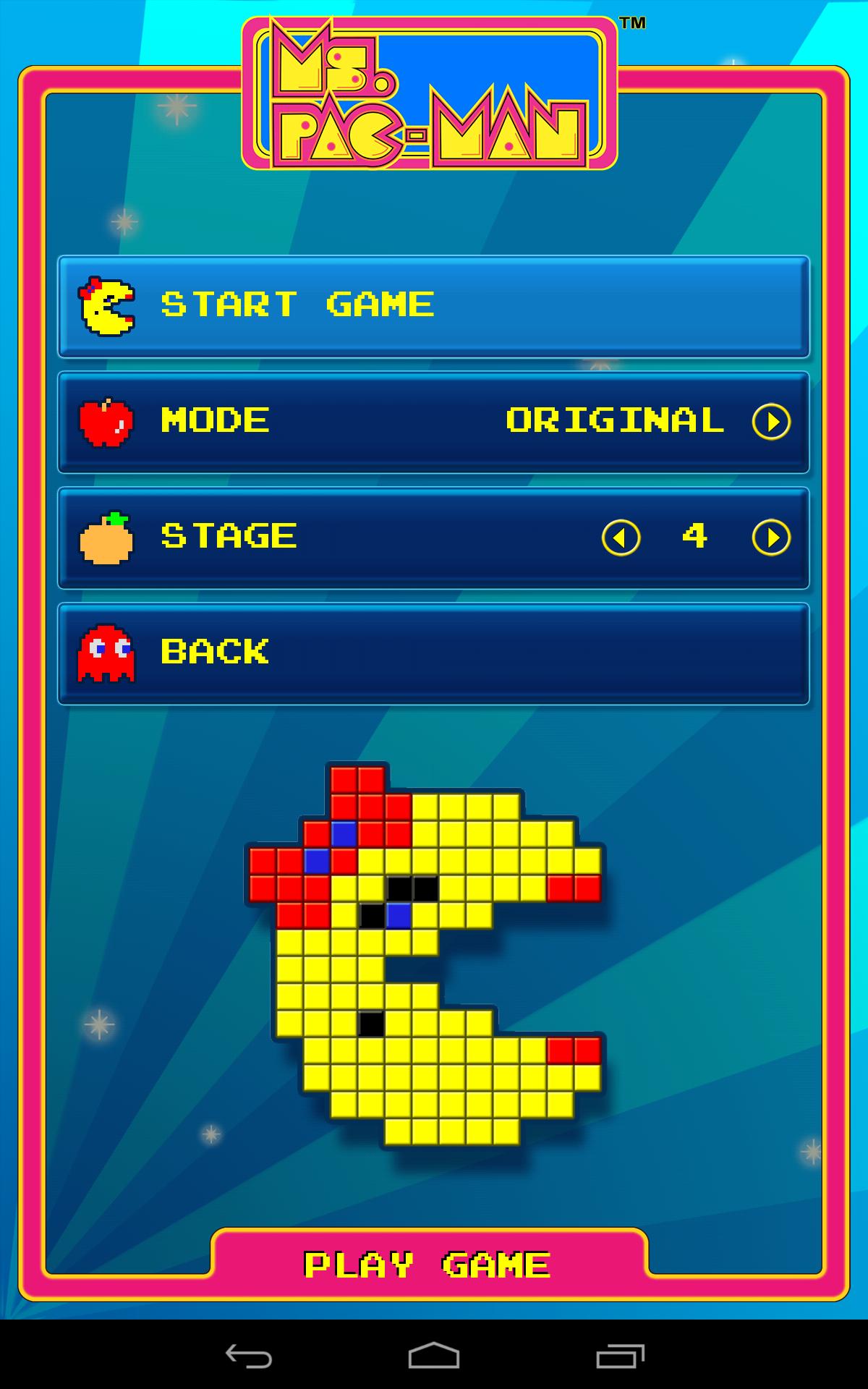 Ms. PAC-MAN by Namco screenshot #2