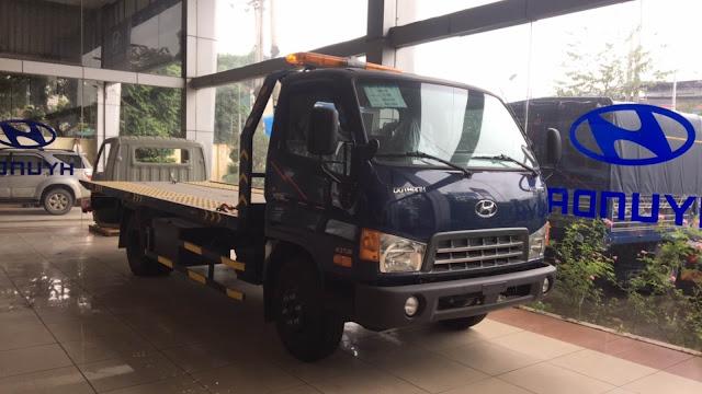 Hyundai HD120sl cứu hộ sàn trượt