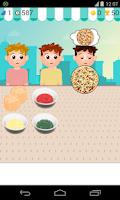 Screenshot of pizza sales games
