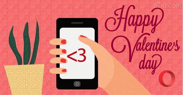 """Happy Valentine!!! Opera xin chúc tất cả các bạn cùng """"người thương"""""""