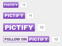 pictify buttons