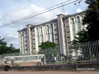 Le siège de la DGDA à Kinshasa