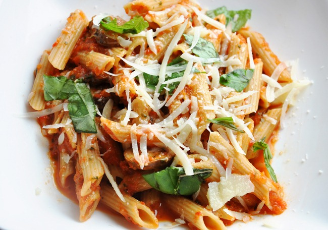 roasted pepper pasta 222