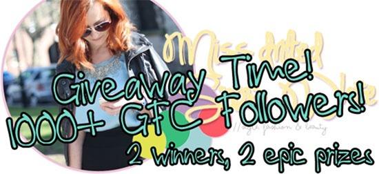 1000  GFC Followers Giveaway