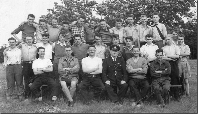 Cadet Camp, Plawsworth, early 1960's, my Dad was a PTI.  I recognise Duncan Adamson and Jack Wharrier