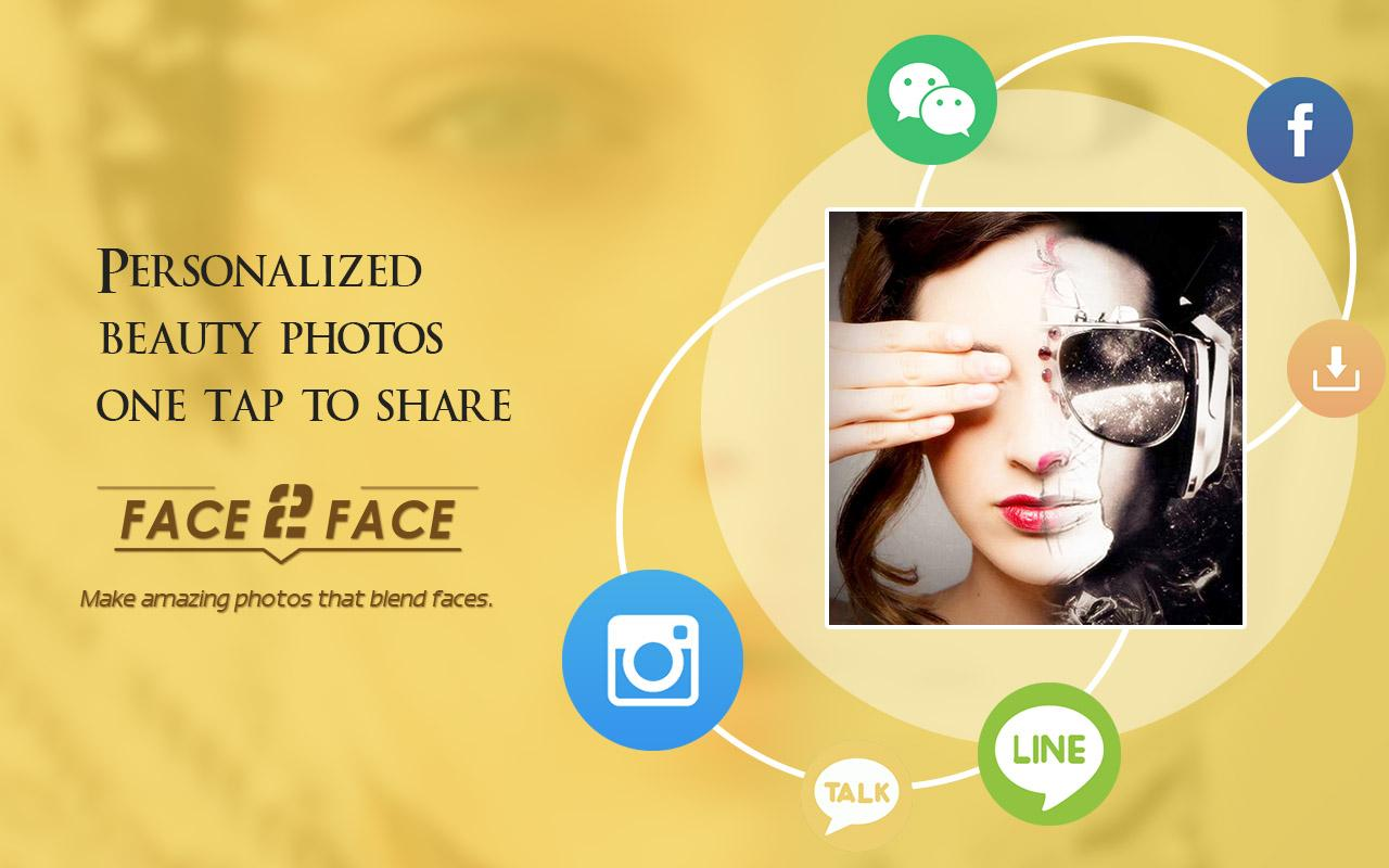 Face2Face-funny face effects- screenshot