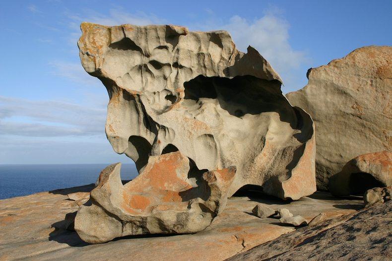 The Remarkable Rocks At Flinders Chase National Park