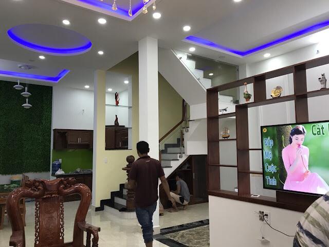 Nhà phố hẻm một sẹc Thạnh Lộc 29 Quận 12 - 012