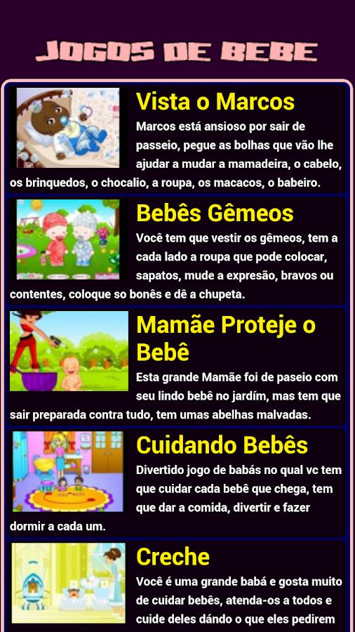 Jogos de Bebê - screenshot