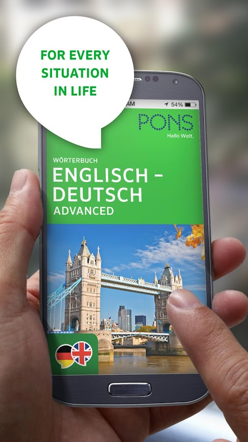 PONS Dictionary German - screenshot