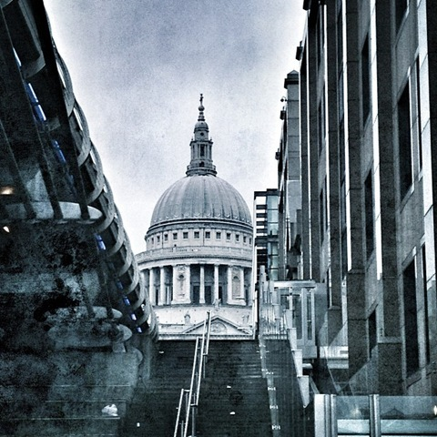 A Light Dusting of Snow on st Paul's Cathedral