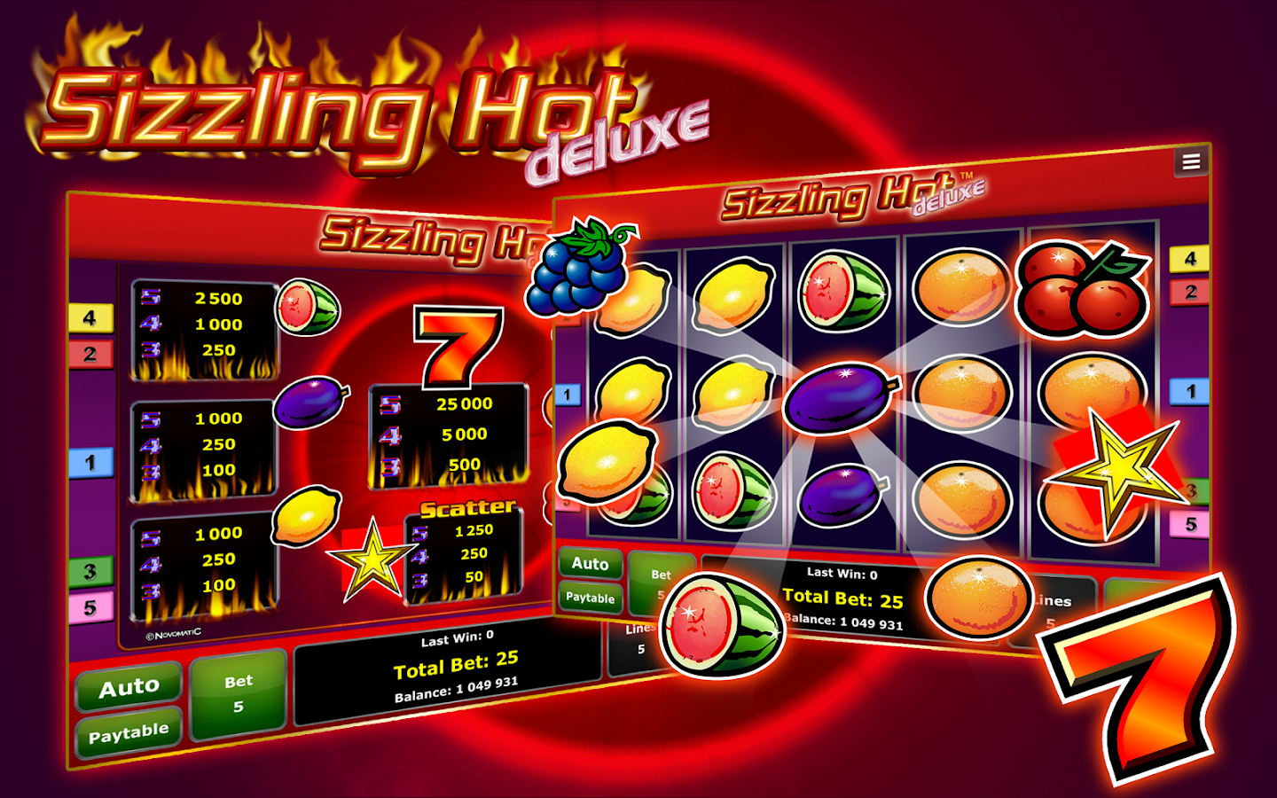 online casino best sizzling hot delux