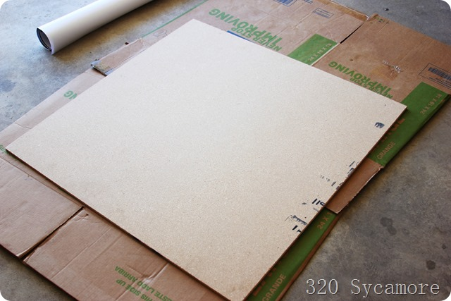 particle board 3ft X 3 ft