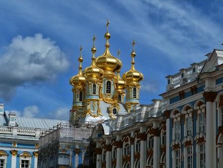 Cupole rusesti la Tsarskoe Selo