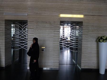 Cel mai rapid lift din lume: lift Burj Khalifa