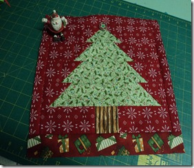 Sue's Xmas Block Oct 2011