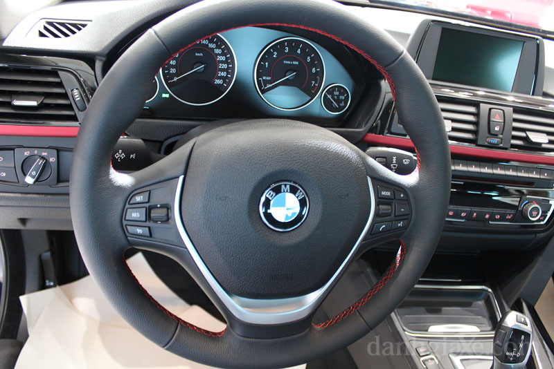 Nội thất xe BMW 420i Coupe 06