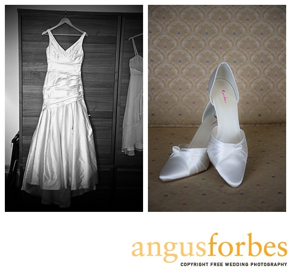 Bridal shoes Scottish wedding Photographer Dundee_028