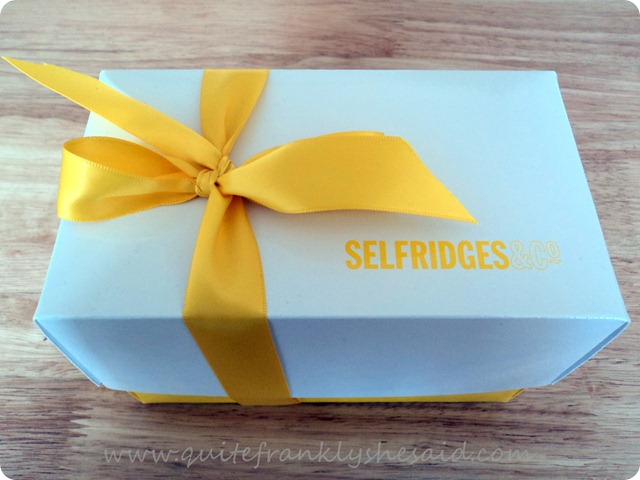 Selfridges limited edition beauty box