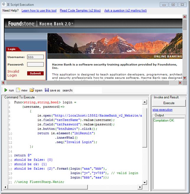 Dinis Cruz Blog: Using captured account details on login form