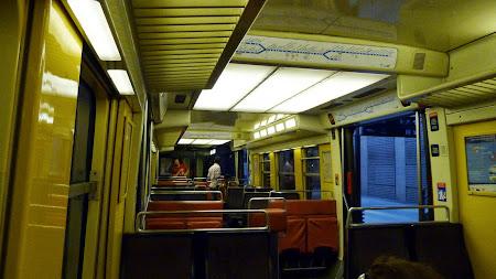 Transport parizian: RER Aeroport - Paris