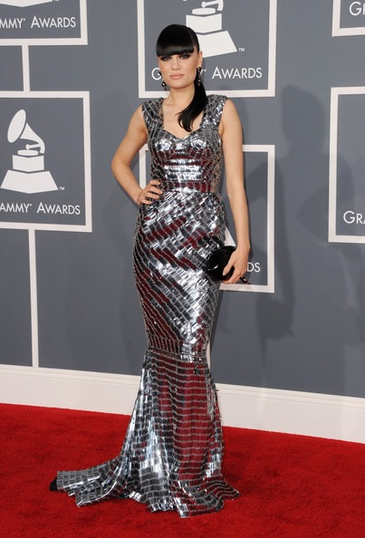 Jessie J arrives at the 54th Annual GRAMMY Awards