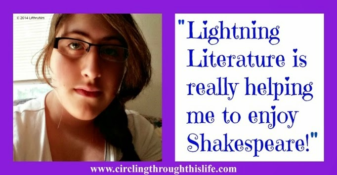Tailorbear shares her thoughts about Lightning Literature Shakespeare