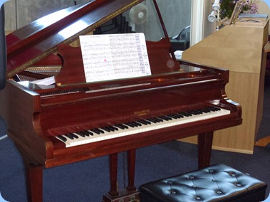 The Broadwood Grand Piano of The Holy Cross Church, Albany.