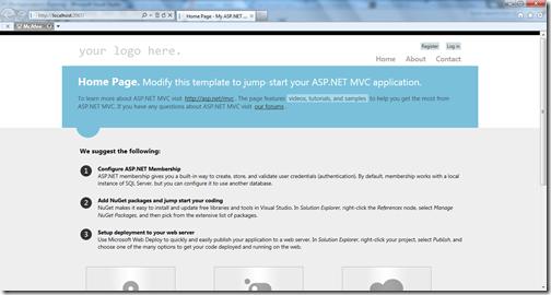 Browser selection in Visual Studio 11 beta