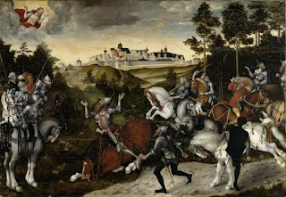 The Conversion of Saul, Lucas Cranach the Younger (1515-1586); Germanisches Nationalmuseum