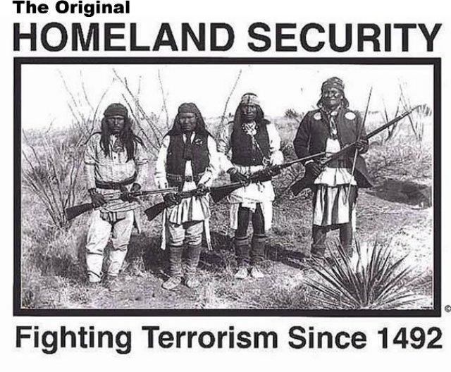 Combatiendo el terrorismo desde 1492