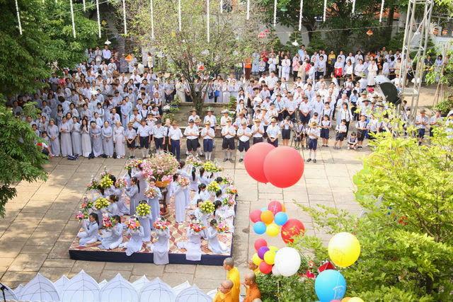 IMG 1810 Đại lễ Phật đản PL 2557 tại Tu viện Quảng Hương Già Lam