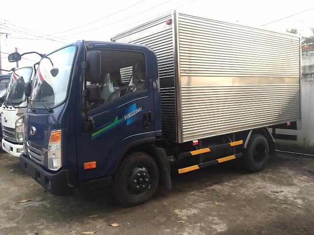 Xe tải Daehan 2,5 tấn thùng kín