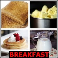BREAKFAST- Whats The Word Answers
