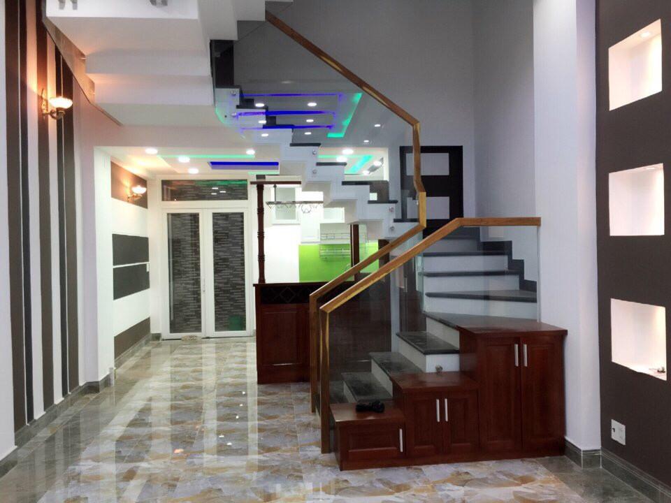 Nhà Phố Mặt Tiền đường Cây Keo Quận Tân Phú 1 trệt 3 lầu 02