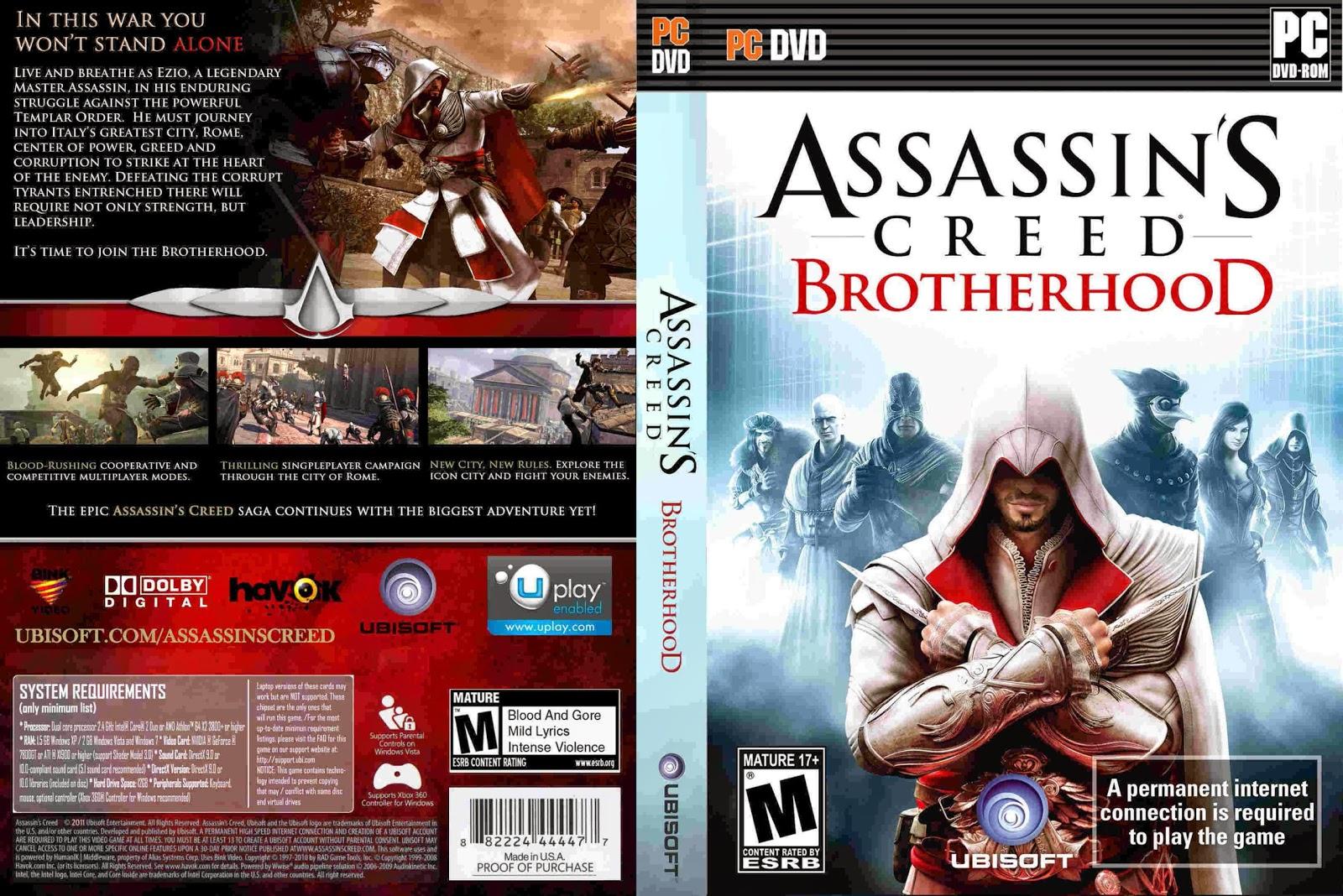Uncensored scenes in assassin's creed brotherhood adult galleries